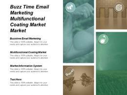 Buzz Time Email Marketing Multifunctional Coating Market Market Information System Cpb