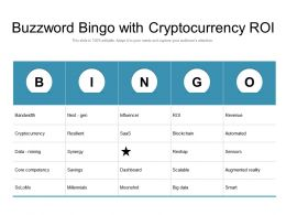 Buzzword Bingo With Cryptocurrency Roi