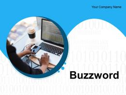 Buzzword Marketing Growth Business Innovation Management Optimization