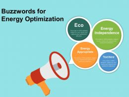 Buzzwords For Energy Optimization