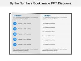 By The Numbers Book Image Ppt Diagrams