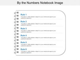 By The Numbers Notebook Image