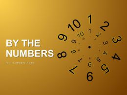By The Numbers Rules Guidelines Regulations Laws