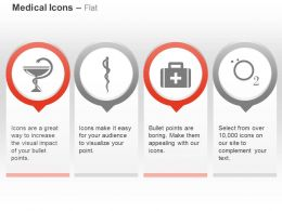 Caduceus First Aid Box Oxygen Ppt Icons Graphics