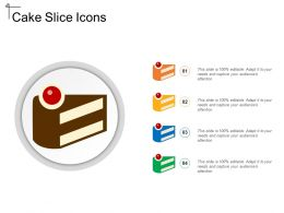 Cake Slice Icons