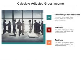 Calculate Adjusted Gross Income Ppt Powerpoint Presentation Outline Model Cpb