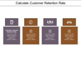 Calculate Customer Retention Rate Ppt Powerpoint Presentation Infographics Graphics Template Cpb