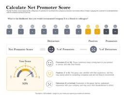 Calculate Net Promoter Score Customer Retention And Engagement Planning Ppt Icon