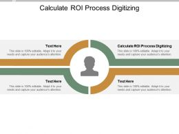 Calculate ROI Process Digitizing Ppt Powerpoint Presentation Ideas Portrait Cpb