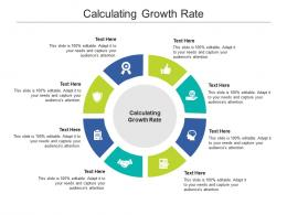 Calculating Growth Rate Ppt Powerpoint Presentation Summary Clipart Cpb