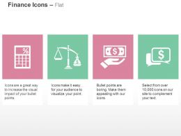 Calculator Financial Balance Need For Money Communication Ppt Icons Graphics