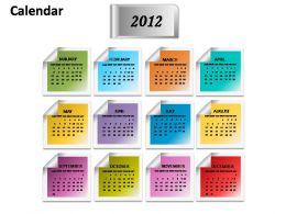 calendar_2012_planner_powerpoint_presentation_slides_Slide01