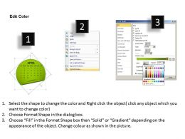 Calendar 2013 April PowerPoint Slides PPT templates