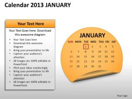calendar_2013_january_powerpoint_slides_ppt_templates_Slide01