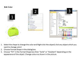 Calendar 2013 March PowerPoint Slides PPT templates