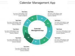 Calendar Management App Ppt Powerpoint Presentation Pictures Layouts Cpb