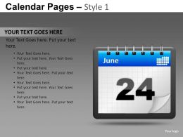 calendar_pages_style_1_powerpoint_presentation_slides_db_Slide02