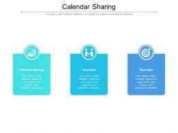 Calendar Sharing Ppt Powerpoint Presentation Professional Deck Cpb