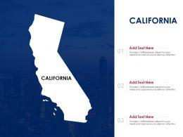 California Powerpoint Presentation PPT Template