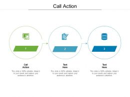 Call Action Ppt Powerpoint Presentation Model Format Cpb