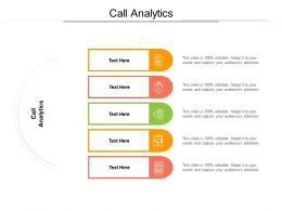 Call Analytics Ppt Powerpoint Presentation Infographic Template Aids Cpb