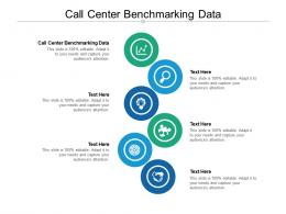 Call Center Benchmarking Data Ppt Powerpoint Presentation Inspiration Influencers Cpb