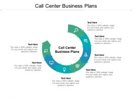 Call Center Business Plans Ppt Powerpoint Presentation Infographics Clipart Images Cpb