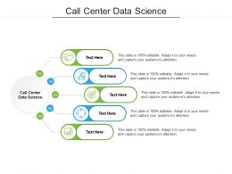 Call Center Data Science Ppt Powerpoint Presentation File Designs Cpb