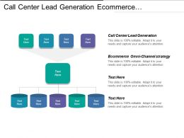 Call Center Lead Generation Ecommerce Omni Channel Strategy Cpb