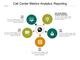 Call Center Metrics Analytics Reporting Ppt Powerpoint Presentation Styles Show Cpb