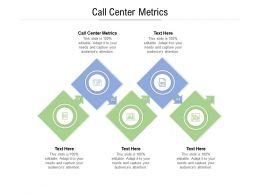 Call Center Metrics Ppt Powerpoint Presentation Portfolio Images Cpb