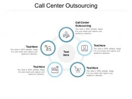 Call Center Outsourcing Ppt Powerpoint Presentation Slides Portrait Cpb
