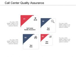 Call Center Quality Assurance Ppt Powerpoint Presentation Summary Cpb