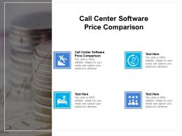 Call Center Software Price Comparison Ppt Powerpoint Presentation Professional Ideas Cpb