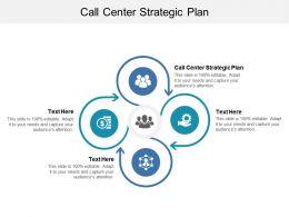Call Center Strategic Plan Ppt Powerpoint Presentation Ideas Design Ideas Cpb