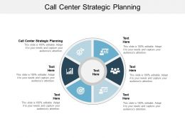 Call Center Strategic Planning Ppt Powerpoint Presentation Ideas Model Cpb