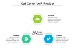 Call Center Voip Provider Ppt Powerpoint Presentation Outline Deck Cpb