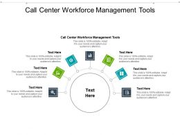 Call Center Workforce Management Tools Ppt Powerpoint Presentation Pictures Rules Cpb