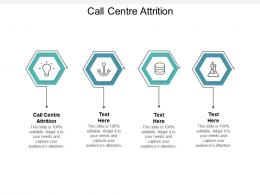 Call Centre Attrition Ppt Powerpoint Presentation Ideas Shapes Cpb
