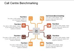 Call Centre Benchmarking Ppt Powerpoint Presentation File Design Ideas Cpb