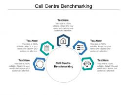 Call Centre Benchmarking Ppt Powerpoint Presentation Slides Deck Cpb