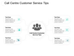 Call Centre Customer Service Tips Ppt Powerpoint Presentation Slides Graphics Design Cpb