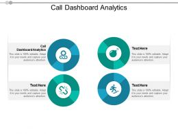 Call Dashboard Analytics Ppt Powerpoint Presentation Gallery Display Cpb