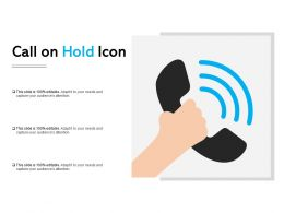 Call On Hold Icon