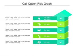 Call Option Risk Graph Ppt Powerpoint Presentation Gallery Demonstration Cpb