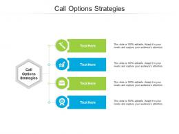 Call Options Strategies Ppt Powerpoint Presentation Infographic Cpb