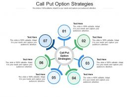 Call Put Option Strategies Ppt Powerpoint Presentation Outline Graphics Cpb