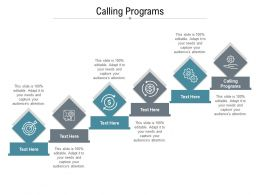 Calling Programs Ppt Powerpoint Presentation File Example Topics Cpb