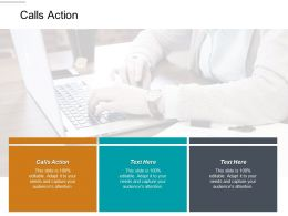 Calls Action Ppt Powerpoint Presentation Gallery Elements Cpb
