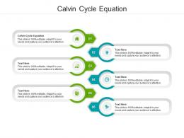 Calvin Cycle Equation Ppt Powerpoint Presentation Sample Cpb